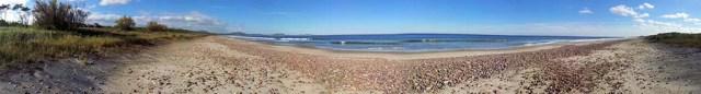 Strandpanorama vom 27.05.2013 gegen 14:00 Uhr