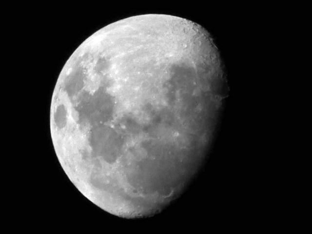 Mond über Uruguay