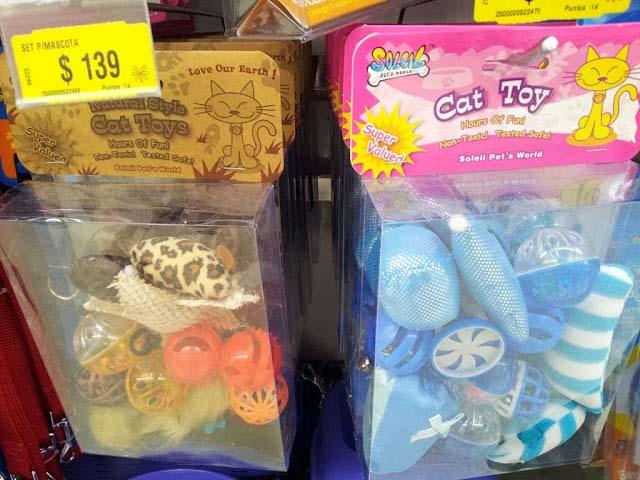Spielzeugsets für Katzen