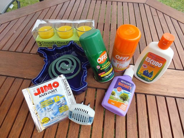 Kleine Auswahl zur Insektenabwehr