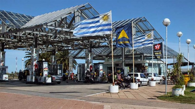 ANCAP Rambla Montevideo