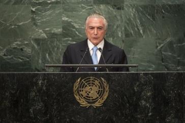 Brasiliens nicht gewählter Präsident Temer versprach bei seiner Pressekonferenz zum Jahresende eine Verbesserung der Lage für das zweite Quartal 2017