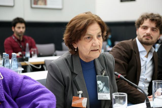 Opfer der Colonia Dignidad bei einer Anhörung im Bundestag Anfang 2015