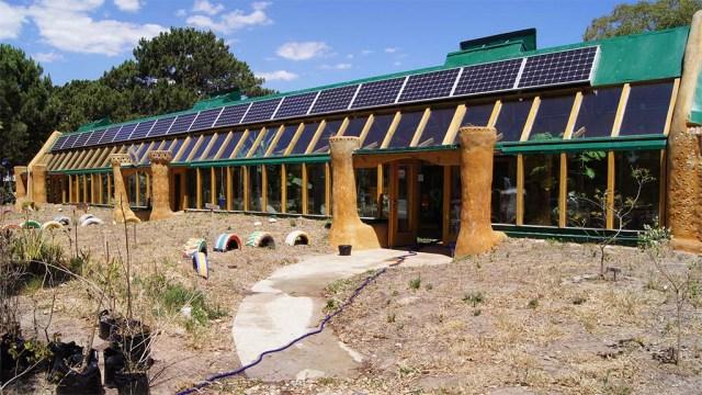 Una escuela sustentable, Nordansicht
