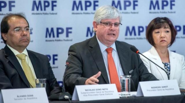 Brasiliens Generalbundesanwalt beim Obersten Gerichtshof, Rodrigo Janot, will gegen 83 Politiker ermitteln, die im Verdacht der Korruption stehen
