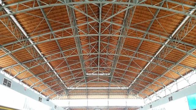 Die Dachkonstruktion.