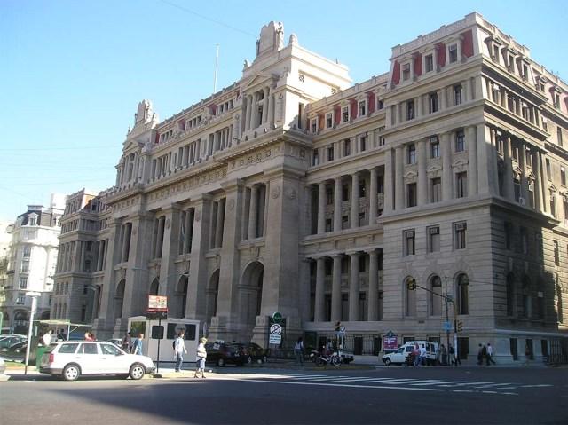 Der Palacio de Justicia de la Nación: Sitz des Obersten Gerichtshofs Argentiniens