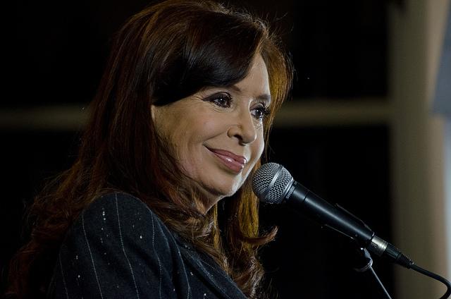 Ex-Präsidentin von Argentinien, Cristina Fernández (2007-2015)
