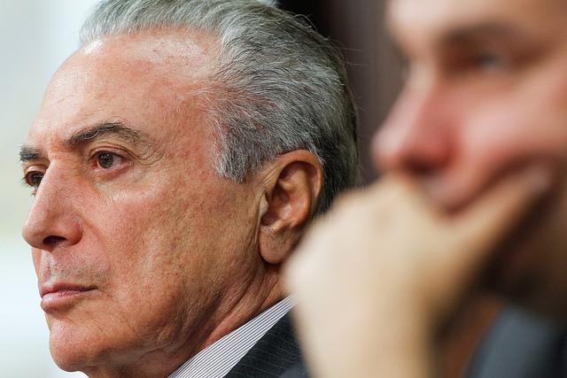 Weiter im Visier der Justiz: De-facto-Präsident Temer in Brasilien