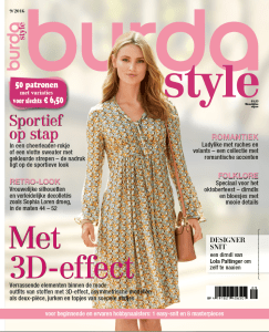 Burda Style 9 september 2016