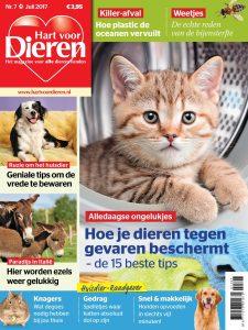 Cover Hart voor Dieren juli 7-2017