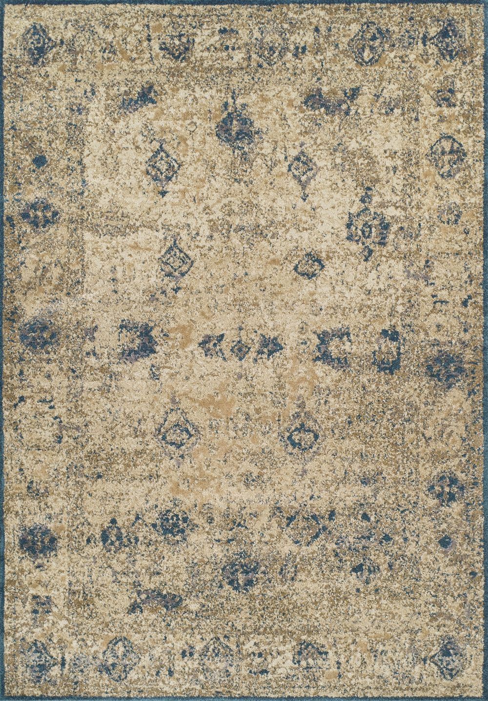 Antiquity Grey Vintage Art Silk Amp Polypropylene Rug Soft