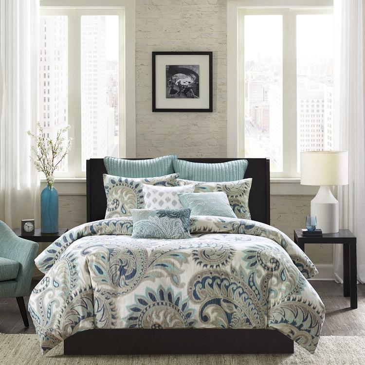 Seafoam 3 Piece Comforter Mini Set