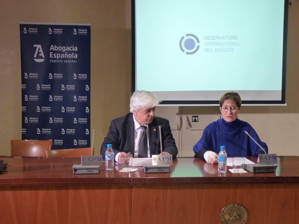 Oriol Rusca y Victoria Ortega