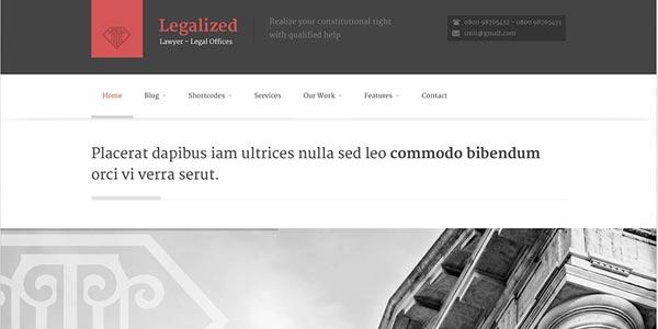 Las mejores plantillas Wordpress para abogados