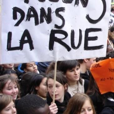 «Tribune» sur la pédagogie cachée des manifestations…