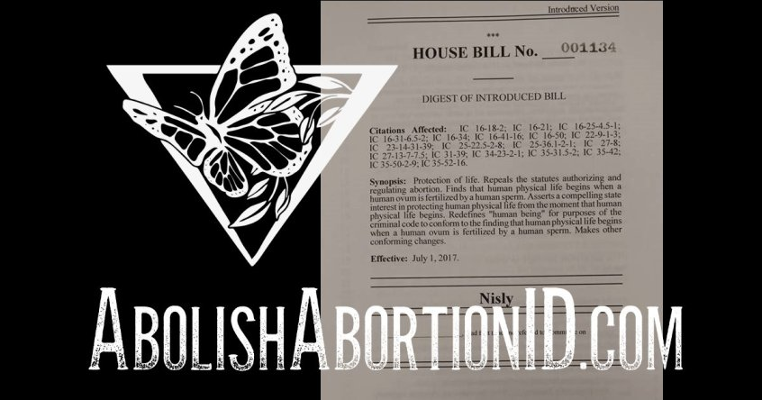 Indiana abortion murder bill HB 1134