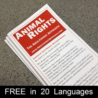The Abolitionist Approach to Animal Rights Pamphlet