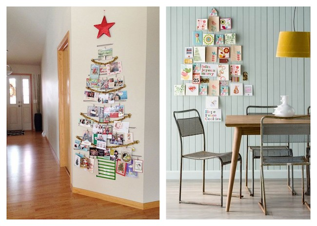 A Bolt Of Blue Cool Ways To Display Christmas Cards