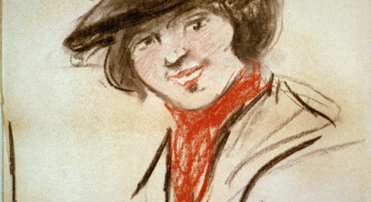 Eliza Doolittle by George Luks 1908