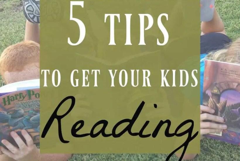 get kids reading