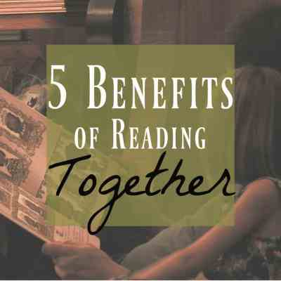 5 Fantastic Reasons You'll Want to Read Together