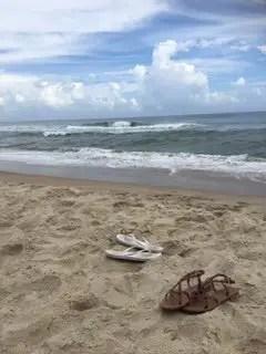 Family Vacation Sandy Beach