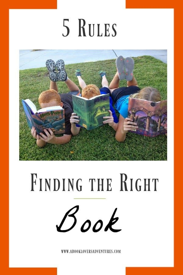 Find just the right book