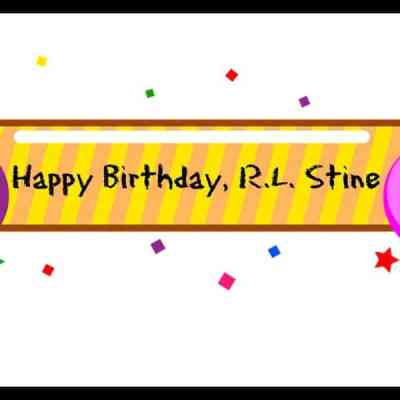 Happy Birthday, R.L. Stine!