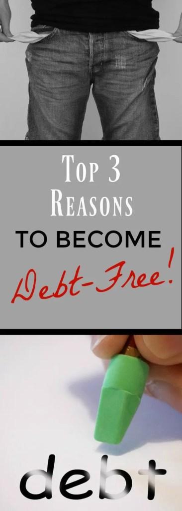 becoming debt free