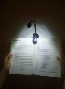 Reading Light book lover gift ideas
