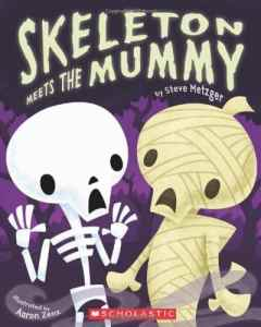skeleton meets mummy