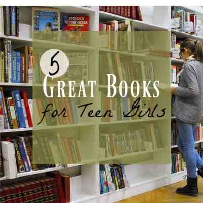 5 Really Good Books for Teenage Girls ~ Book Recommendations