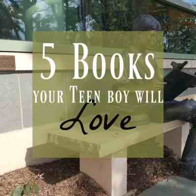 5 Books for Teen Boys They Absolutely Want to Read