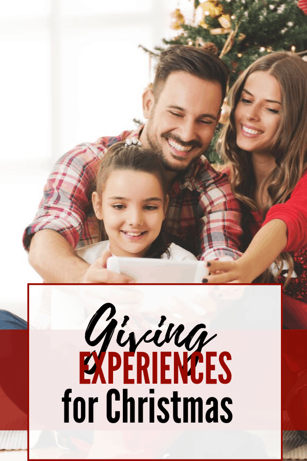 Giving Experiences instead of Gifts