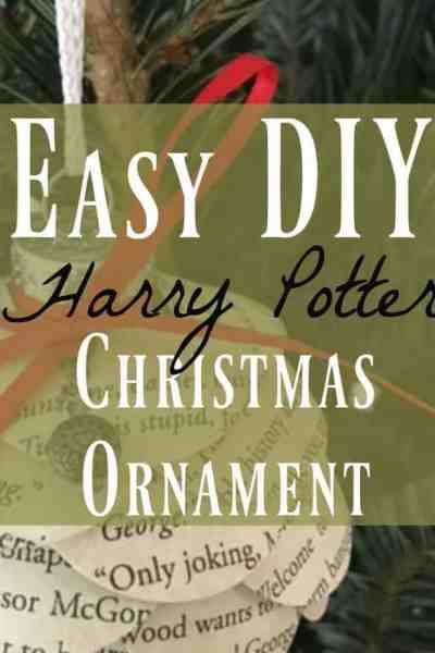 DIY Harry Potter ornament