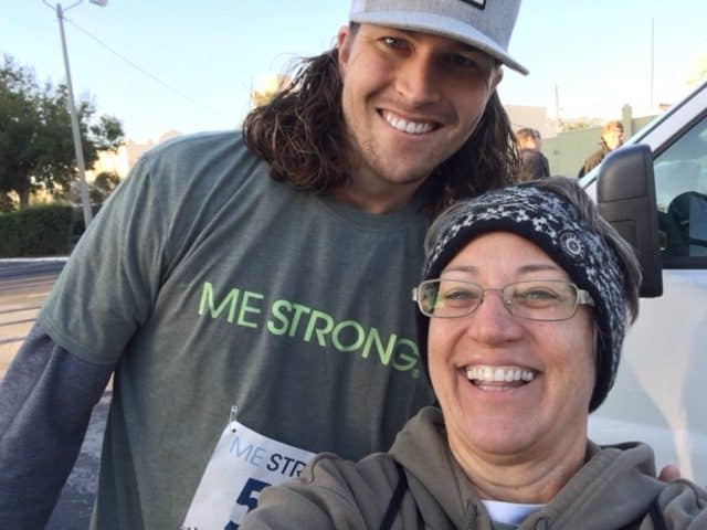 Jacob DeGrom at the 5K