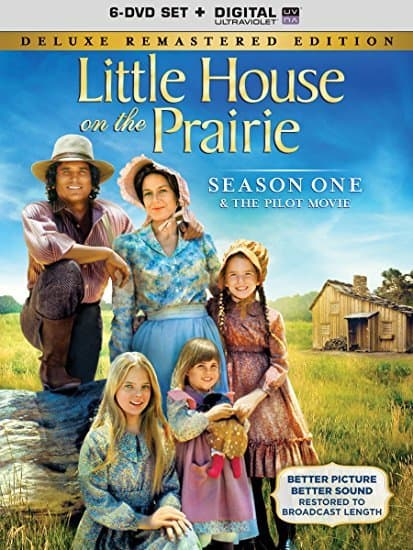 DVDs about writer Laura Ingalls Wilder