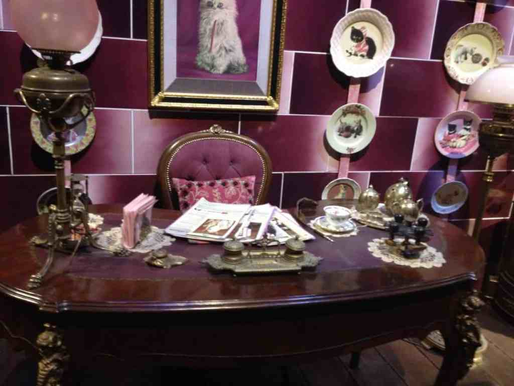 Umbridge's office on the Warner Bros Tour
