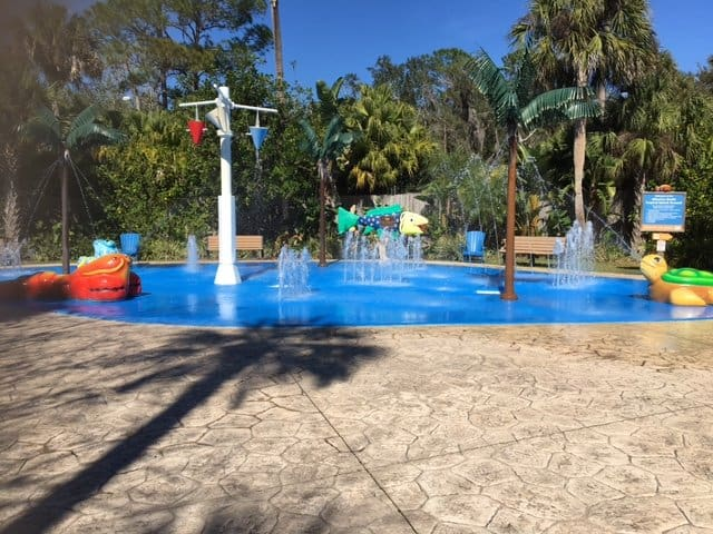 Great Splash Play area