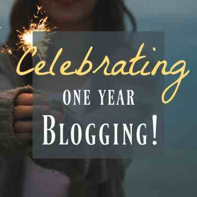 Celebrating My ONE YEAR Blogging Anniversary!!