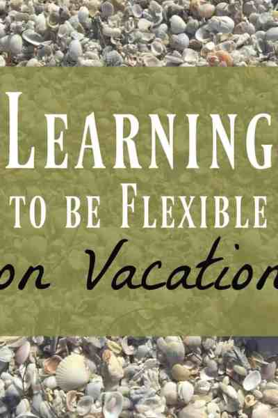 Flexible on vacation