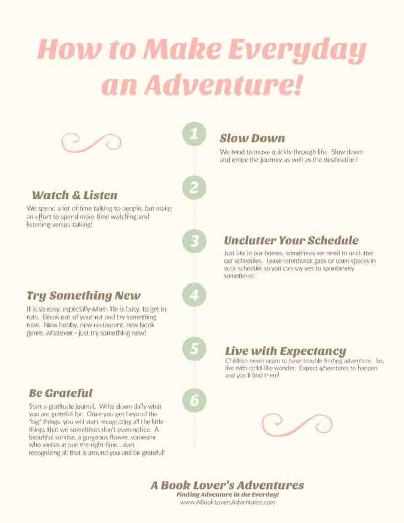 How to Make Everyday an Adventure