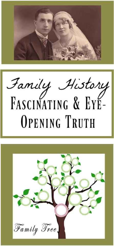 Family History Learning the Truth