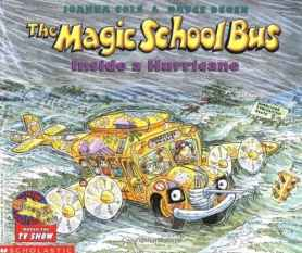 magic school bus hurricane books