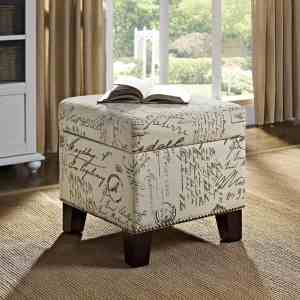 Reading nook ideas ottoman