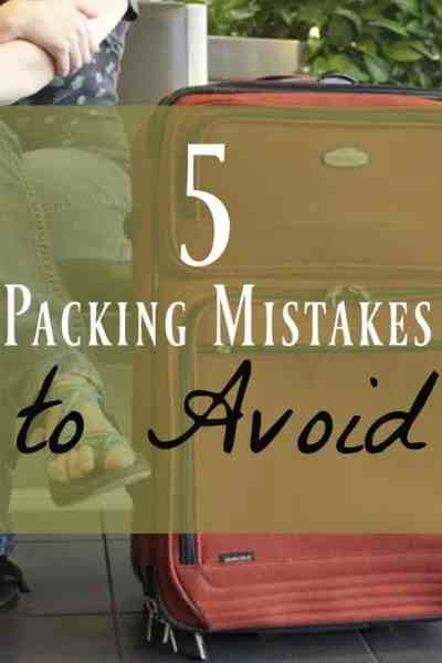 My Series of Unfortunate Packing Mistakes