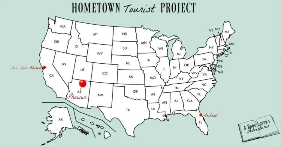 Living in Phoenix Map