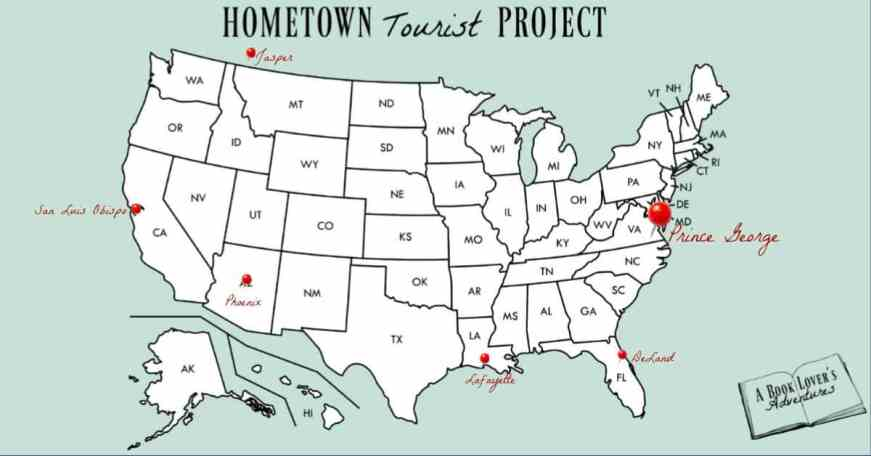 Prince George VA Map