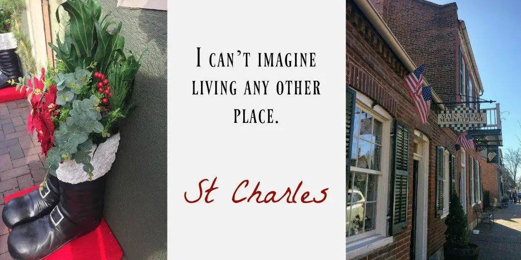 historic St. Charles, MO